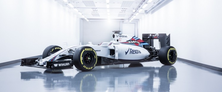 February 2016 Williams FW38 Photo: Williams F1. Ref: WS8A84791_HDR_Edit