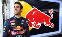 BAHRAIN, BAHRAIN - FEBRUARY 22: Daniel Ricciardo of Australia and Infiniti Red Bull Racing prepares to drive during day four of Formula One Winter Testing at the Bahrain International Circuit on February 22, 2014 in Bahrain, Bahrain. (Photo by Mark Thompson/Getty Images)